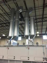 Electrical Contractors Detroit, MI, Industrial Electricians Metro Detroit, MI, Commercial Electricians, turnkey-ventilation-duct
